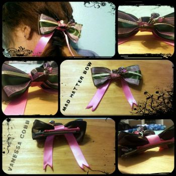 Mad Hatter Bow by KawaChou