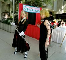SakuraCon 2011-Maka Vs. Medusa by AnyaPanda