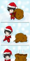 APH: Chistmas Angel? by narusasuchan