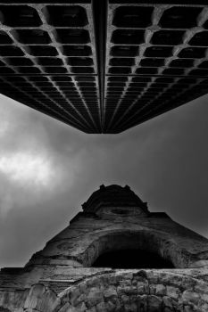 facing towers by Mad-hatt3r