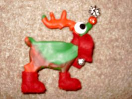 Rudolph Magnet by moonwolf17