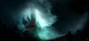 Minas Morgul Speed Paint by MattBurton