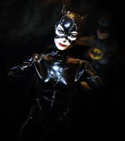 1/6 scale catwoman action figure by Sean-Dabbs-fx
