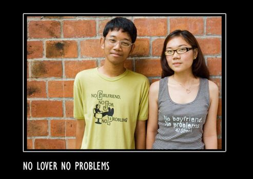 No Lover No Problems by sarcpop