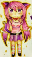 Copic Cat Girl by turquoiseted