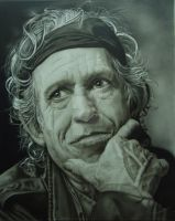 Keith Richards by KimMae