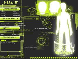 Tech OC Rerefence Sheet -Lime- by magnifico-panther