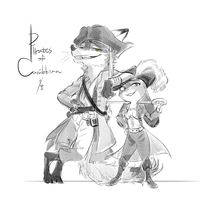 Pirates of the Caribbean by Ganym0