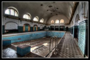 old pool by Lecosa