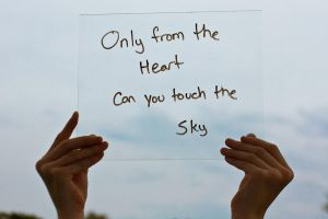 Only From The Heart.... by Lifes-what-u-make-it