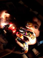 Paint hands by FelicityCharlottex
