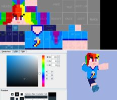 Rainbow Dash Skin Preview by Stickfiguresrule321
