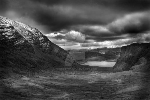 Stormy Highlands by EdPettitt