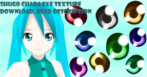 Shugo Chara Eye Texture Download Pack by doremefasoladedo