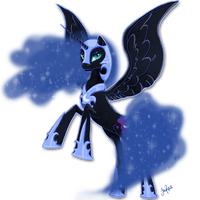 Nightmare Moon by xxMoonwish