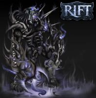 RIFT death colossus by aerlixir