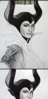 Maleficent-Process by vicariou5