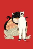 where the wild things are by somefield
