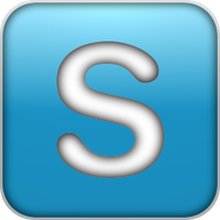 Skype icon 2 by Kryuko