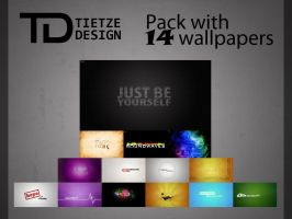 TietzeDesign wallpaper pack by TietzeDesign
