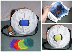 Portal Personality Core Purse by SirLadySketch