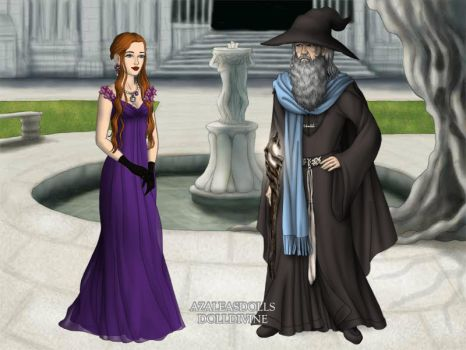 Gandalf meets Prom Lady by ThomasAnime