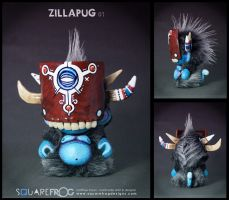 ZillaPUG 01 by SquareFrogDesigns