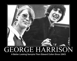 George Harrison by shmazz