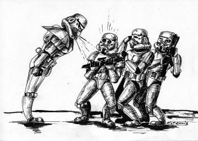 From life of stormtroopers by Noldofinve