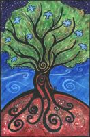 tree of life by hawkmeister