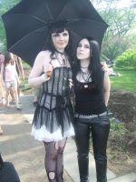 Gothic Cosplay Girls by pikaman206