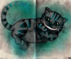 Cheshire Cat by Tanami-M