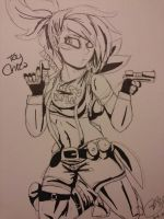 Badass Toy Chica by CocoaDeSi