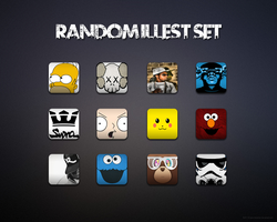 Random Illest Icon Set by kgill77