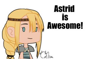 Astrid is Awesome! by Cafcow