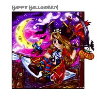 Happy Halloween by Exarrdian