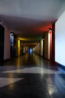 Hall, Cite Radieuse by flop404