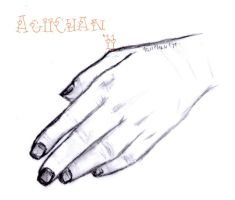 My mom's hand by AgiiChan