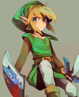 Legend of Zelda: Link by redricewine