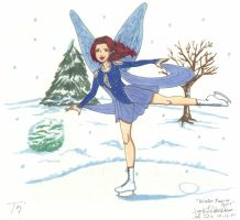Winter Tori Faerie by CrystallineColey