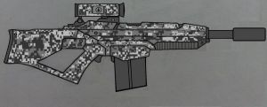 AR-90 recon urban camo by Ruthie420