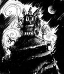 Drawlloween Day 7: Haunted House by chadf