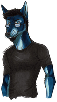 BlueDog by the-MadDog
