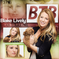 PNG Pack(376) Blake Lively by BeautyForeverr
