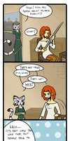 Ja'Khajiit - Pride and Prejudice p.2 by kateChan89