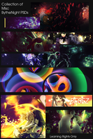 BytheNight PSD Pack by BytheNight