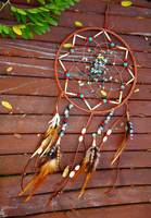 Beaded Dream Catcher by xsaraphanelia