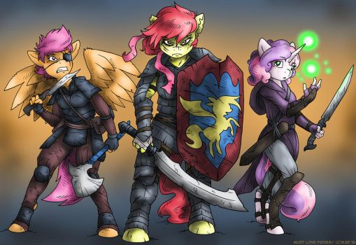 COM: Crusaders of the Apocalypse by MustLoveFrogs