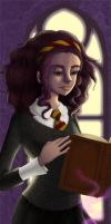 Hermione Bookmark by miss-azalis