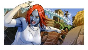Mystique from C and D by ReillyBrown
